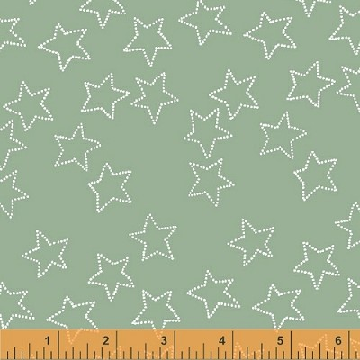 Stella 40692-6 Celadon Stella by Lotta Jansdotter for Windham