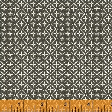 Modern Country 40728-6 Charcoal Diamond Star by Windham