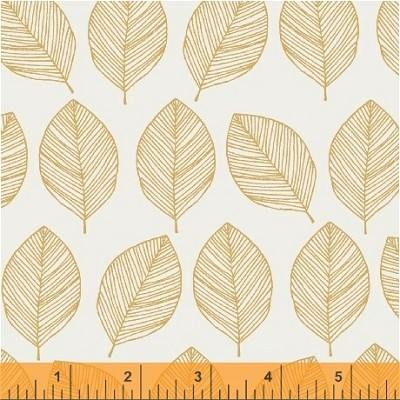 Whisper 41362-1 Butterscotch Leaves by Victoria Johnson for Windham