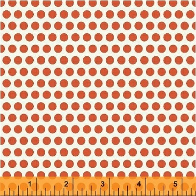 Uppercase 41823-2 Orange Dotty by Janine Vangool for Windham