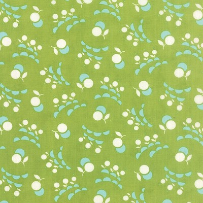 Vintage Picnic 55127-14 Green Smitten by Bonnie & Camille for Moda