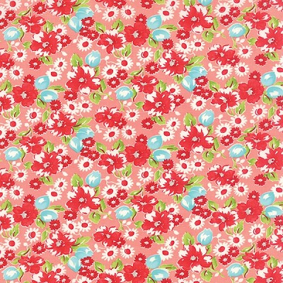 Little Ruby 55130-13 Coral Little Swoon by Bonnie & Camille for Moda