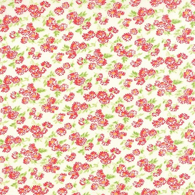 Little Ruby 55137-17 Cream Little Daisy by Bonnie & Camille for Moda EOB