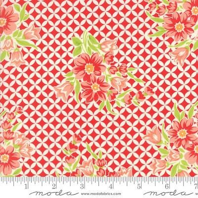 Handmade 55146-11 Red Gwendolyn by Bonnie & Camille for Moda
