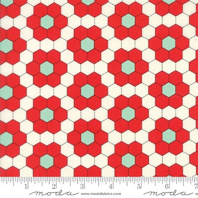 Handmade 55148-27 Red Grandmother's Garden by Moda
