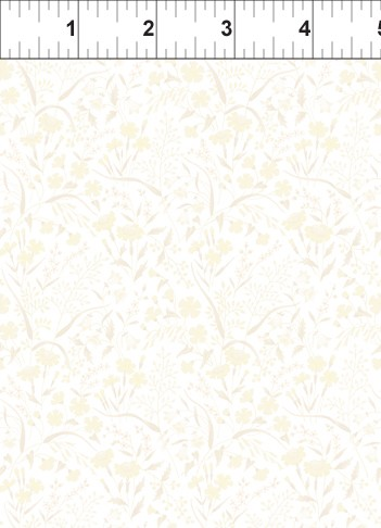 Garden Delights 8GSE5 Cream Prairie Flowers by In The Beginning
