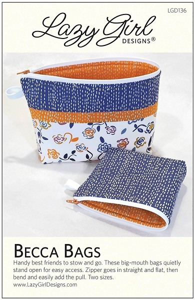 Becca Bags Pattern by Lazy Girl Design