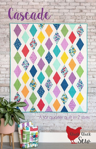 Cascade Quilt Pattern by Allison Harris