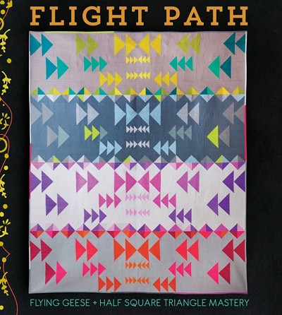 Flight Path Quilt Pattern by Alison Glass