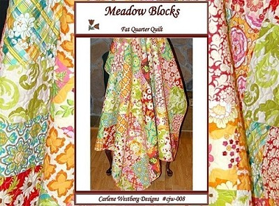 Meadow Blocks Quilt Pattern by Carlene Westerberg Designs