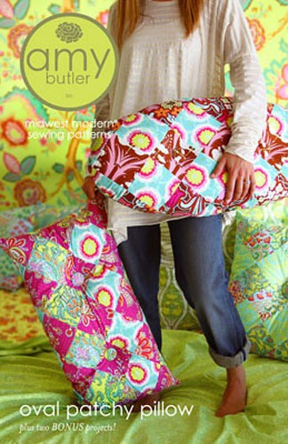 Oval Patchy Pillow Pattern by Amy Butler