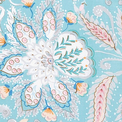 Isabelle PWDF247 Blue Ornate by Dena Designs for Free Spirit