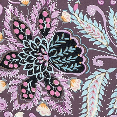 Isabelle PWDF247 Plum Ornate by Dena Designs for Free Spirit