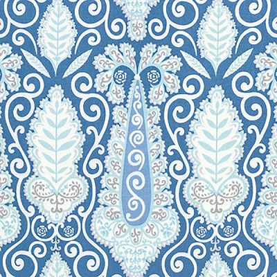 Isabelle PWDF251 Blue Paisley by Dena Designs for Free Spirit