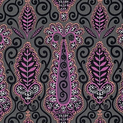 Isabelle PWDF251 Plum Paisley by Dena Designs for Free Spirit
