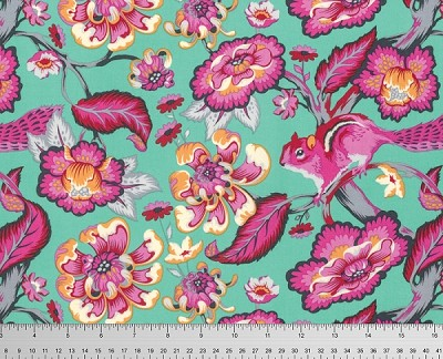 Chipper PWTP078 Sorbet Chipmunk by Tula Pink for Free Spirit