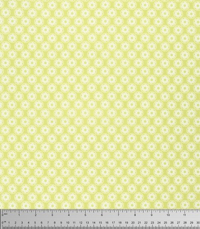 Lola PWTW105 Yellow Little Flowers by Tanya Whelan for Free Spirit