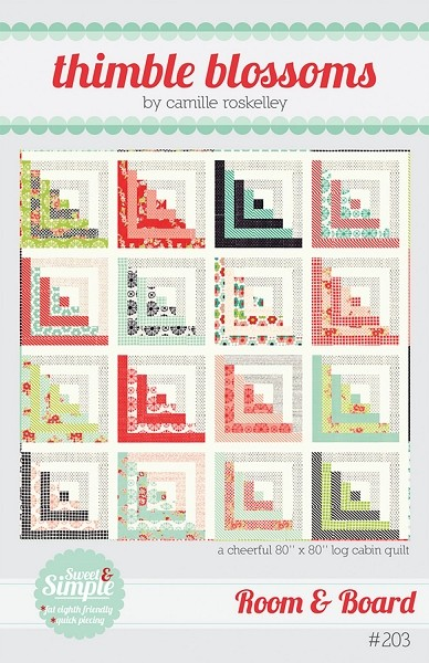 Room Board Quilt Pattern Thimble Blossoms