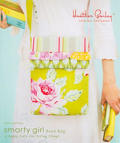 Smarty Girl Book Bag Pattern by Heather Bailey