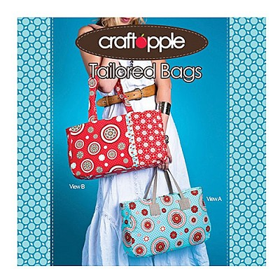 Tailored Bags Pattern by Craft Apple