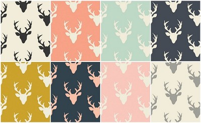 Buck Forest 8 Fat Quarter Set by Art Gallery Fabrics