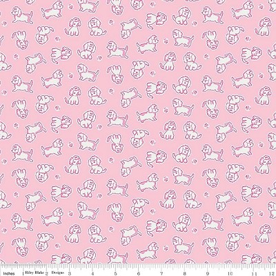 Strawberry Biscuit C5104 Pink Poodle by Elea Lutz for Penny Rose
