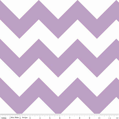Chevron Large C330-120 Lavender by Riley Blake