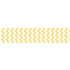 "Chevron Grosgrain Ribbon 7/8"" Yellow by Riley Blake"