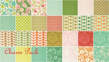 Clementine Charm Pack by Heather Bailey for Free Spirit