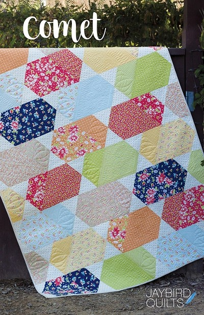 Comet Quilt Pattern by Jaybird Quilts