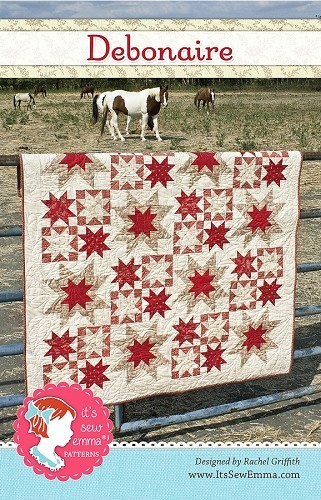 Debonaire Quilt Pattern by It's Sew Emma