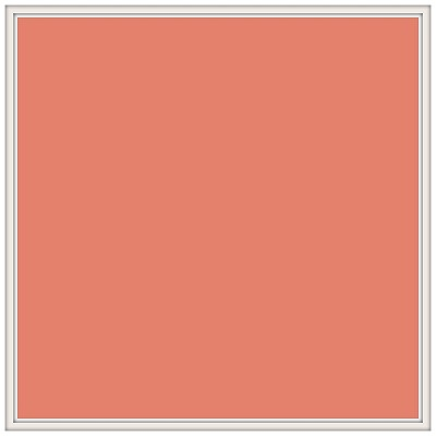 Organic Double Gauze DGS-Coral Solid by Birch