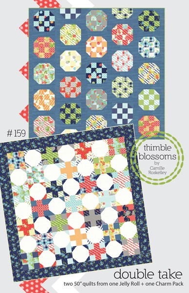 Double Take Quilt Pattern by Thimble Blossoms