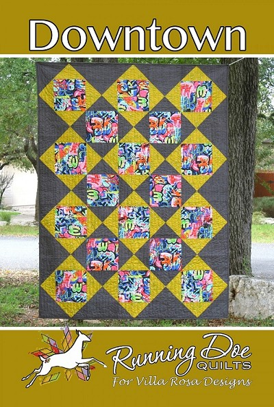 Downtown Quilt Pattern by Running Doe Quilts