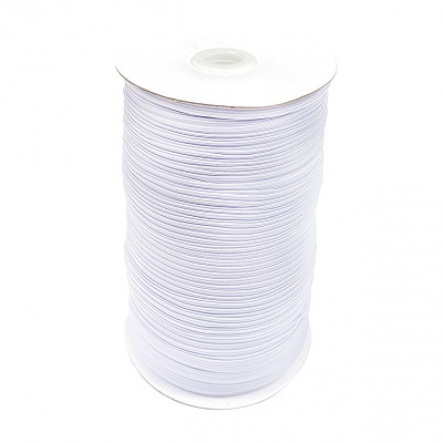 "White 1/4"" Elastic by Gypsy Quilter"