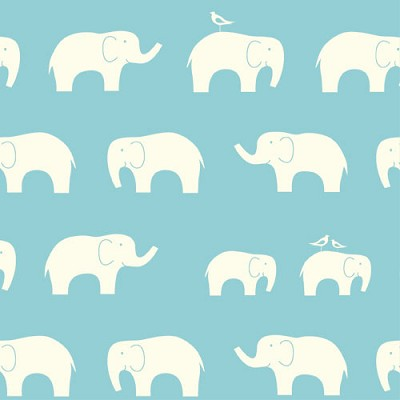 Mod Basics Organic MB-04 Pool Ellie Fam by Birch Fabrics