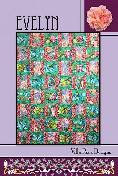 Evelyn Quilt Pattern by Villa Rosa Designs