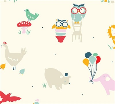 Everyday Party Organic EI-13 Everyday Animals by Birch