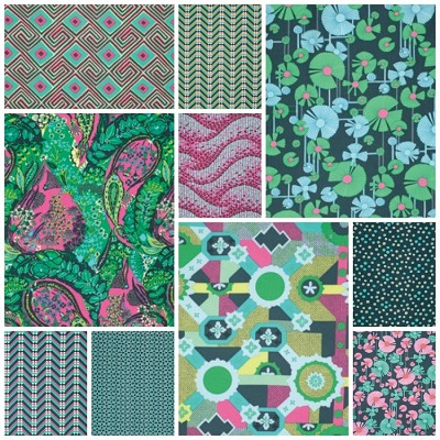 Glow 10 Fat Quarter Set by Amy Butler for Westminster