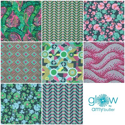 Glow 8 Fat Quarter Set by Amy Butler for Westminster