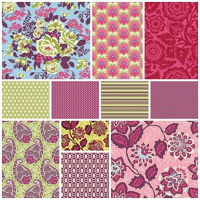 Heirloom 11 Fat Quarter Set by Joel Dewberry for Free Spirit