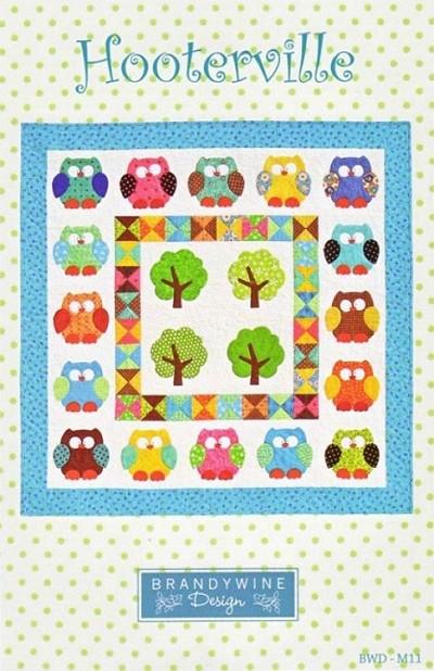 Hooterville Quilt Pattern By Brandywine Design