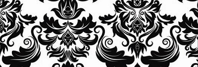 Illustrations 762-W White Damask by P & B Textiles