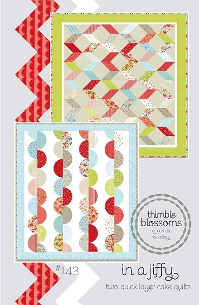 In a Jiffy Quilt Pattern by Thimble Blossoms