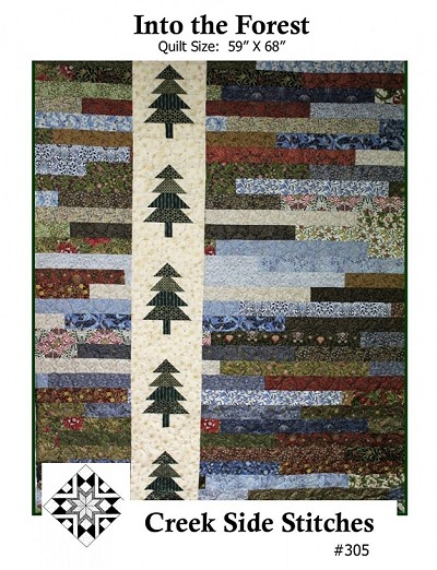 Into the Forest Quilt Pattern by Creek Side Stitches