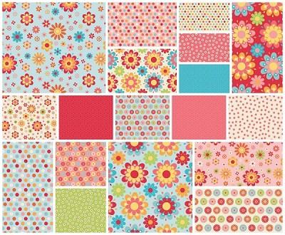 Just Dreamy 2 - 18 Fat Quarter Set by My Mind's Eye for Riley Blake