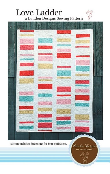 Love Ladder Quilt Pattern by Lunden Designs