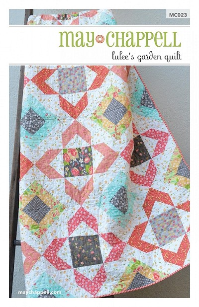 Lulee's Garden Quilt Pattern by May Chappell