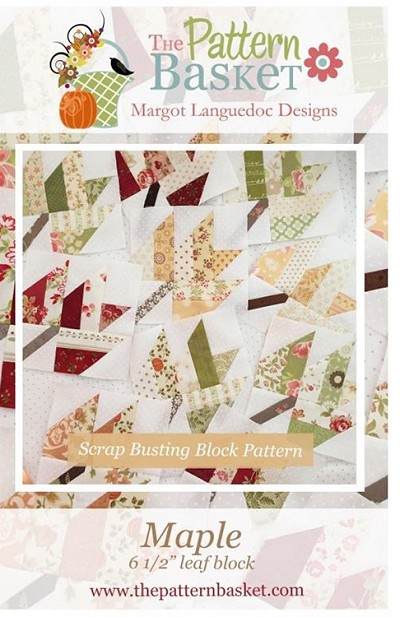 Maple Quilt Block Pattern by The Pattern Basket