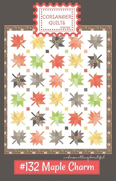 Maple Charm Quilt Pattern by Coriander Quilts